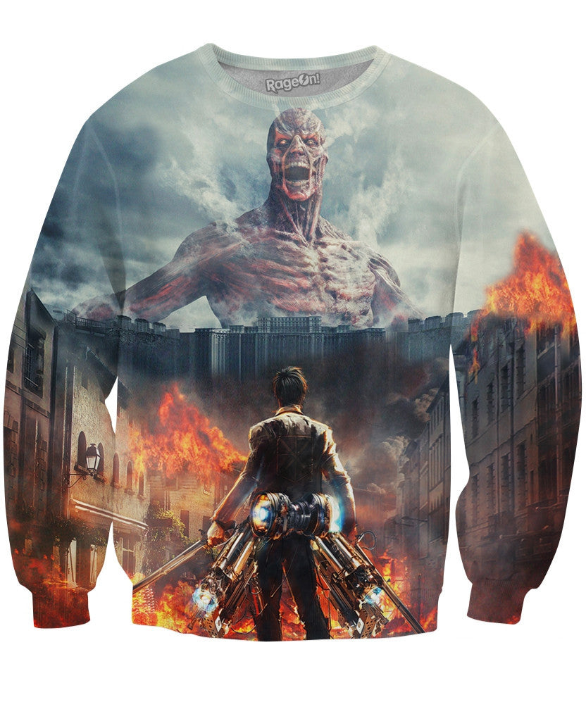 Attack on Titian Live Action Crewneck Sweatshirt