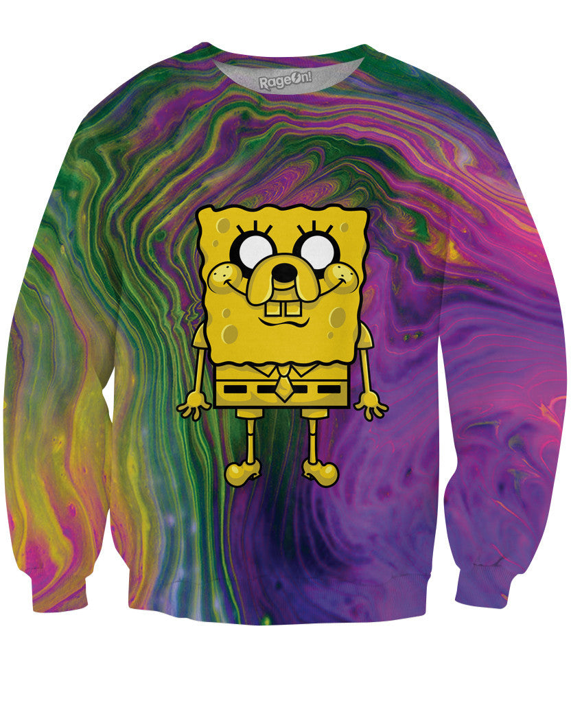 Sponge Jake Squarepants Sweatshirt