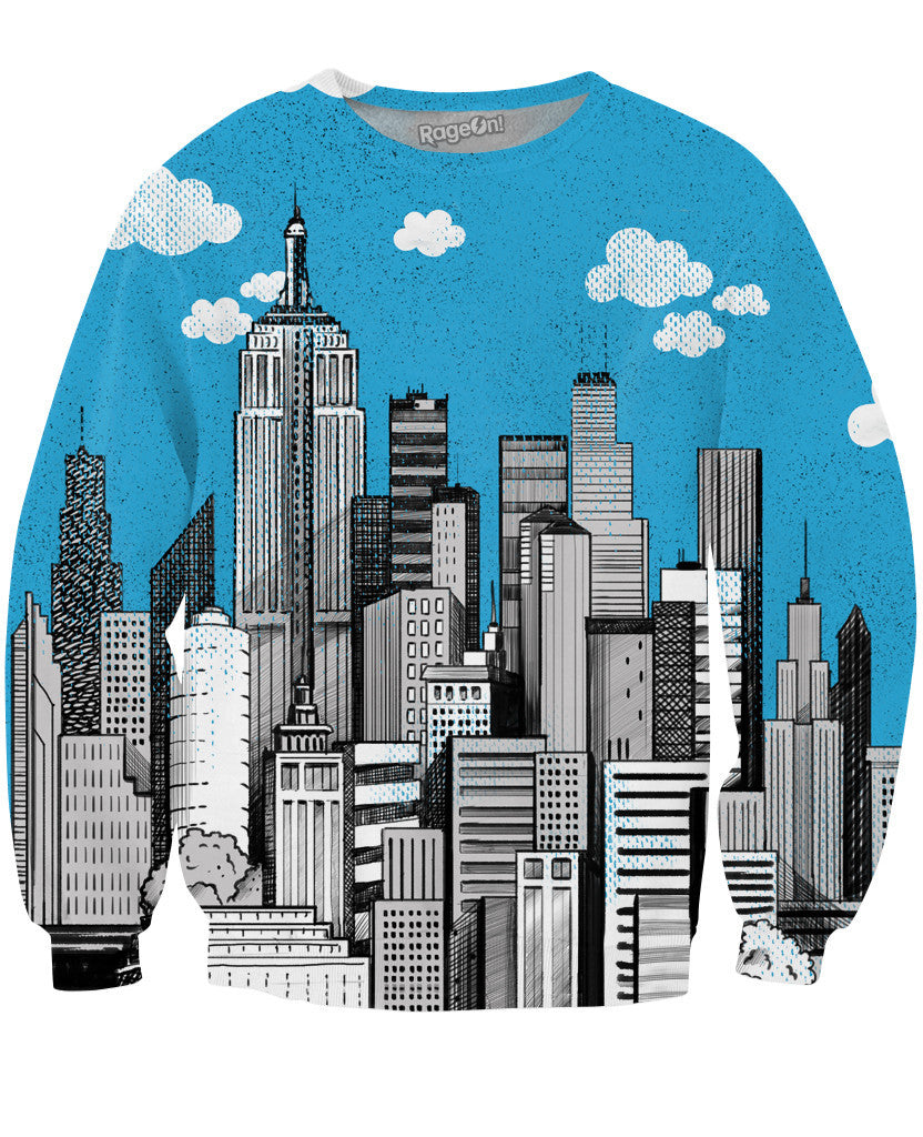 Downtown City Crewneck Sweatshirt