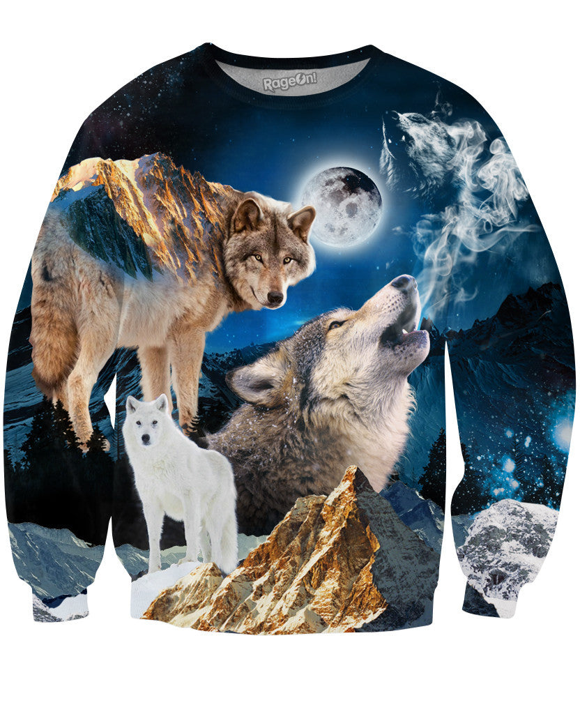 Howl at the Moon Crewneck Sweatshirt