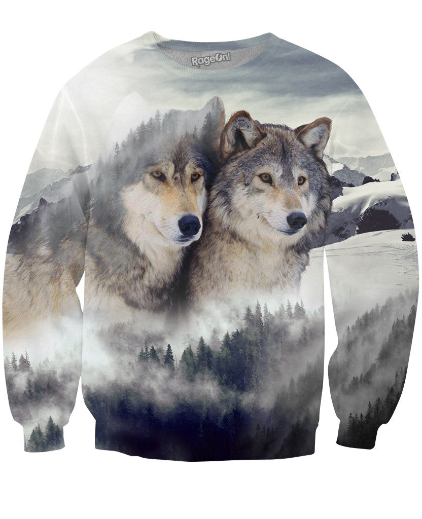 Wolf Ridge Crewneck Sweatshirt