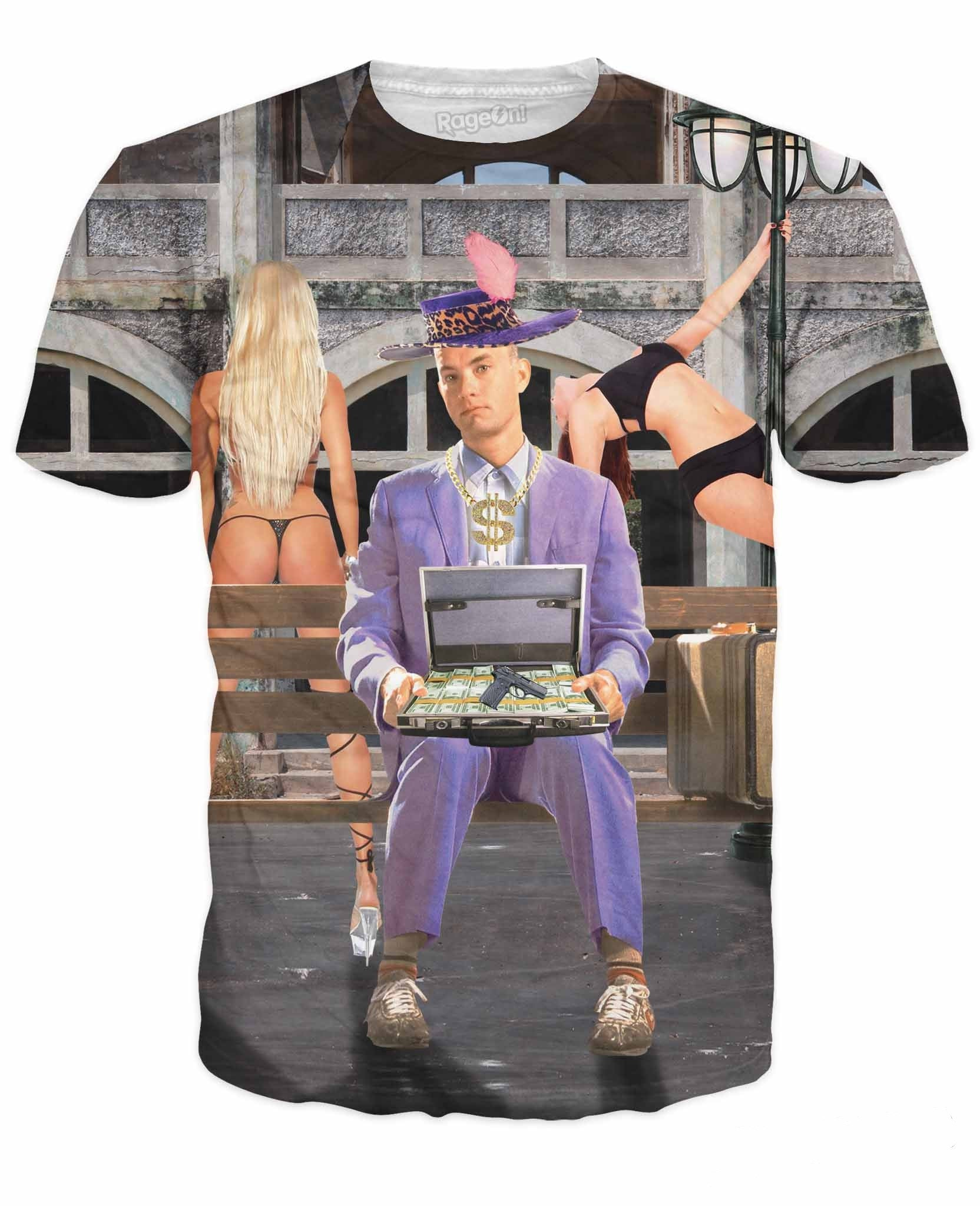 Mack Daddy Forrest TakeAllYoHoes Gump T-Shirt