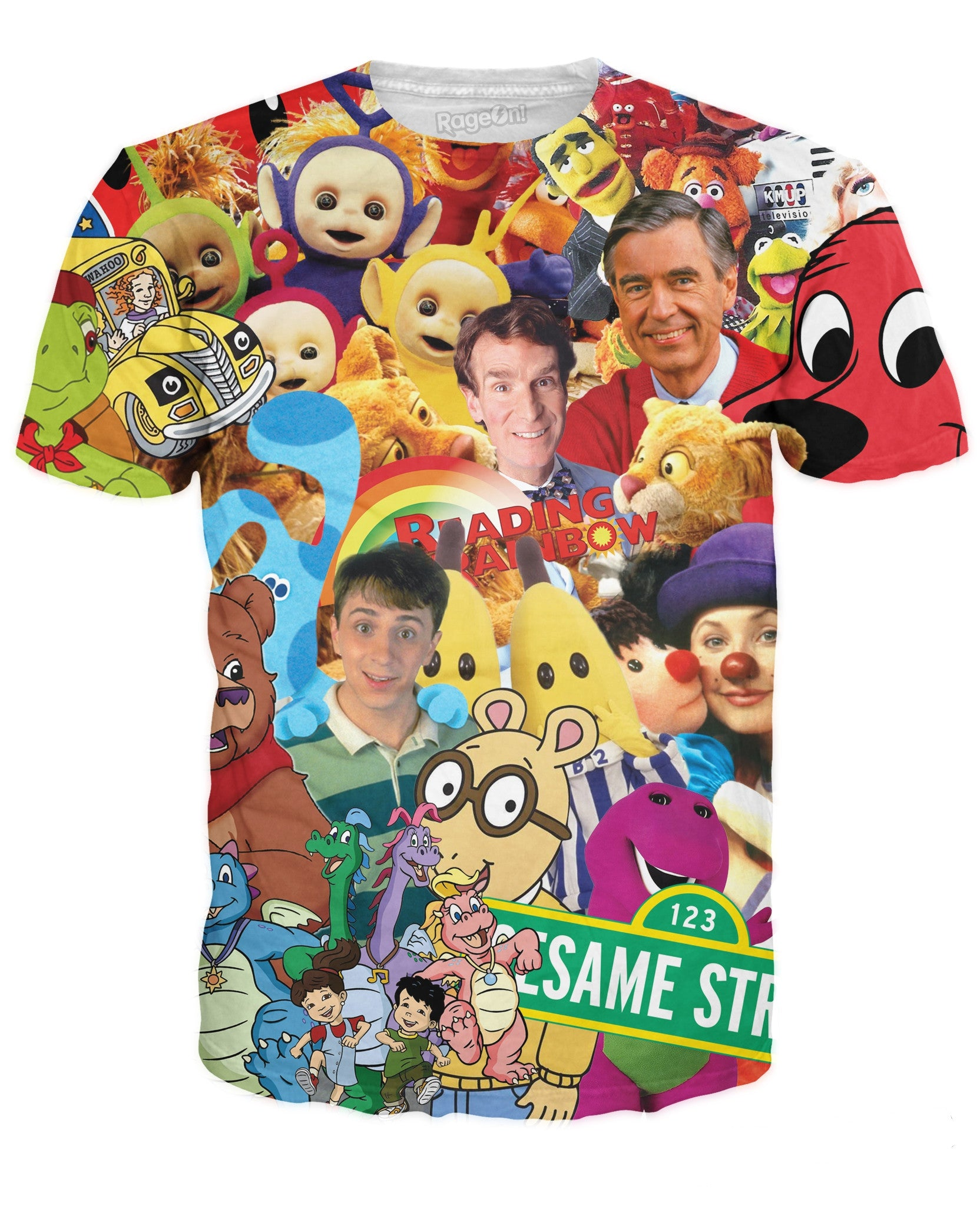 Childhood TV Shows T-Shirt