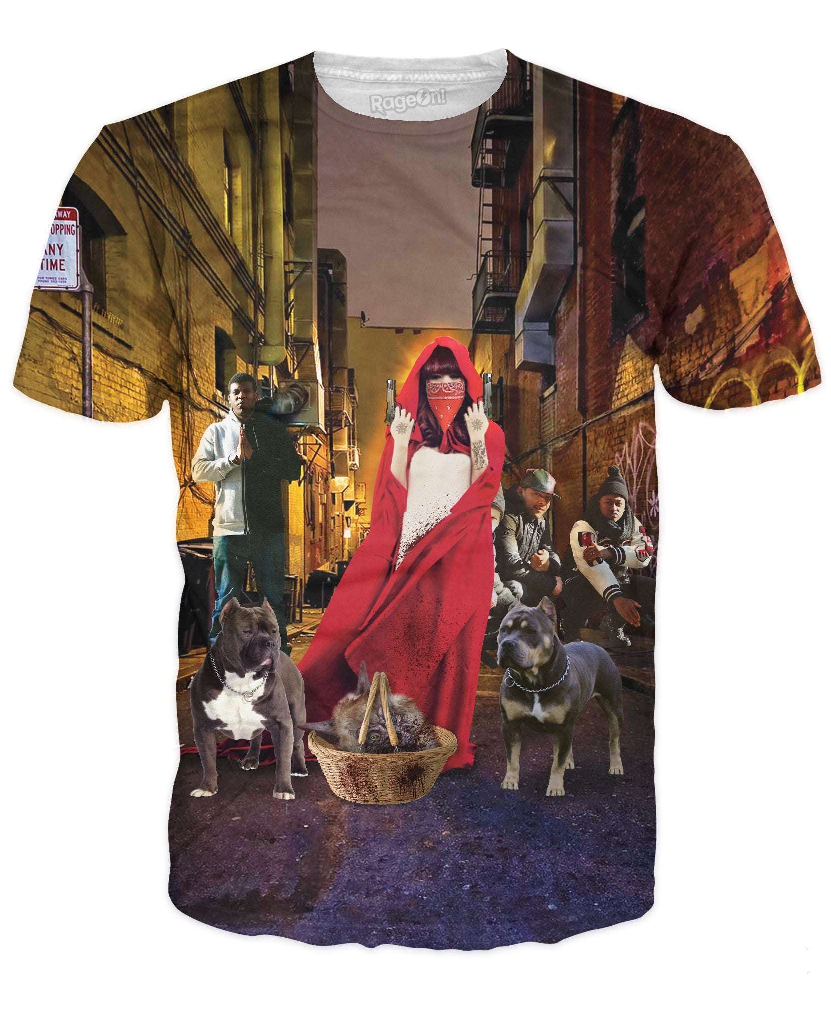 Little Red Riding in the Hood T-Shirt