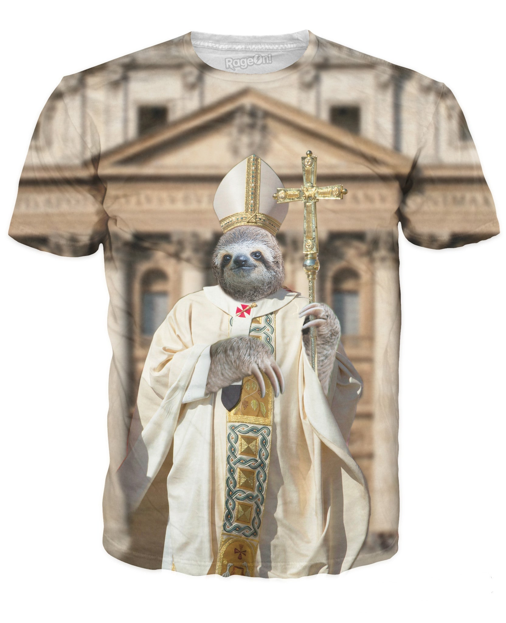 Sloth Pope T-Shirt