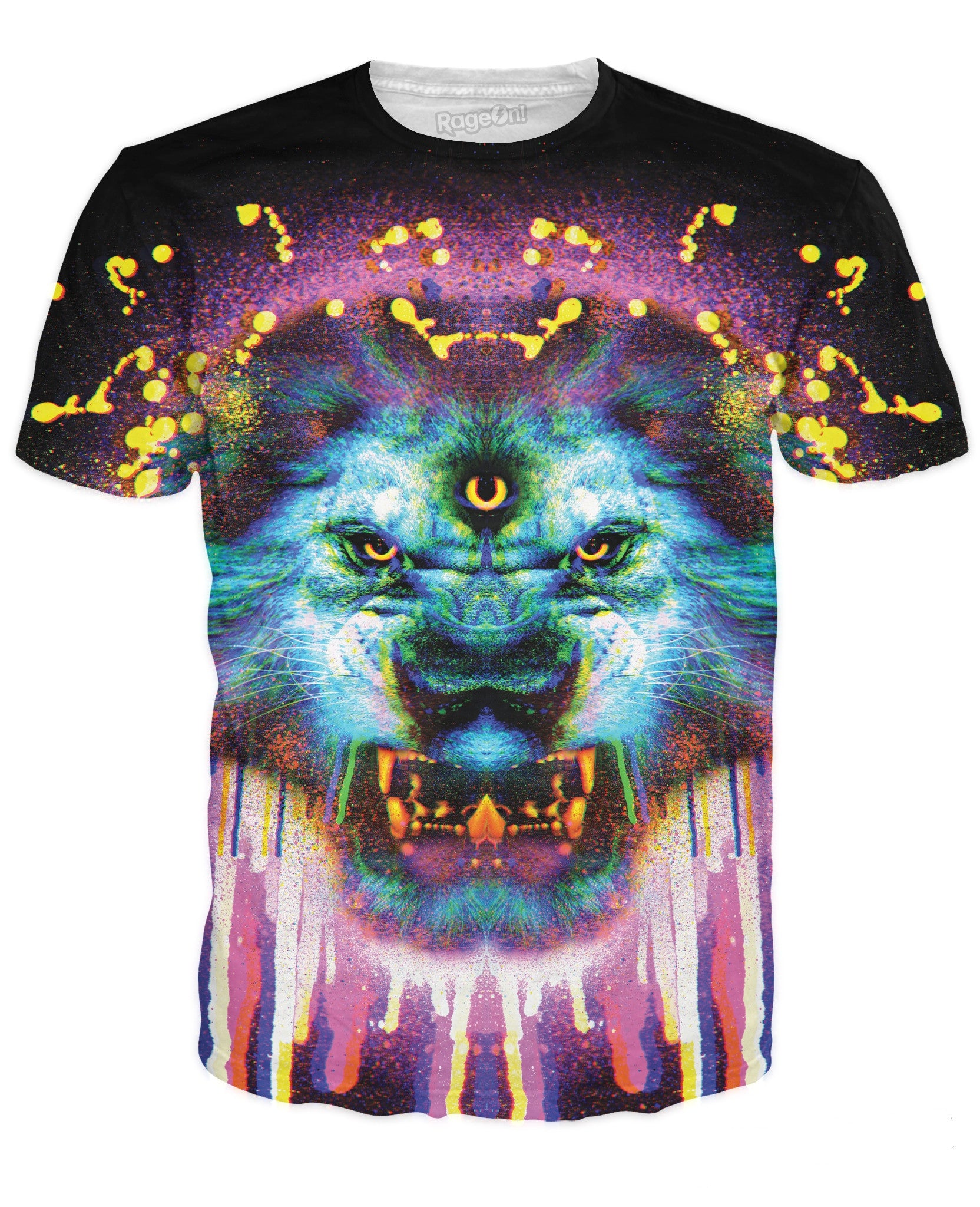Lion Drippy T-Shirt