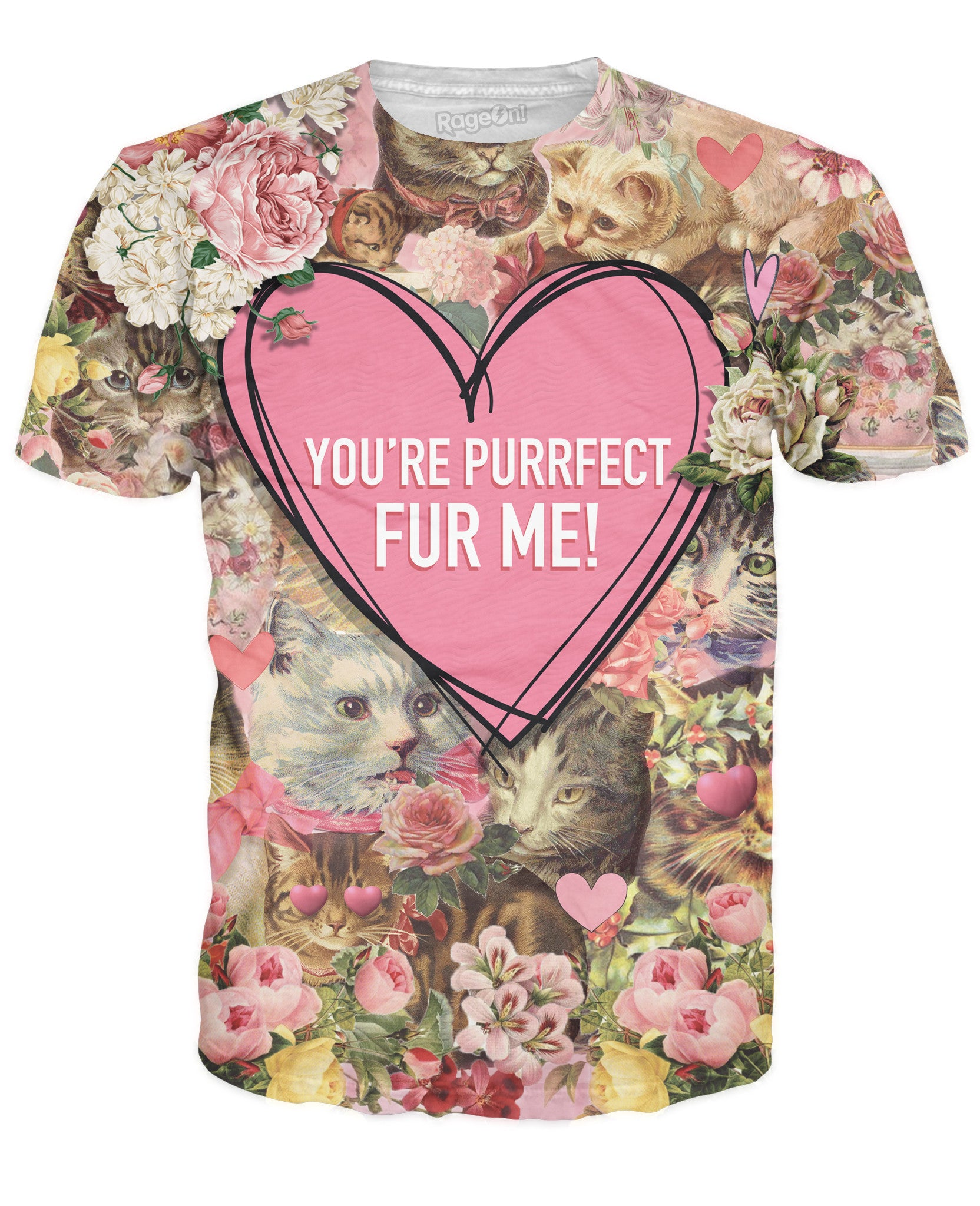 You're Purrfect Fur Me T-Shirt