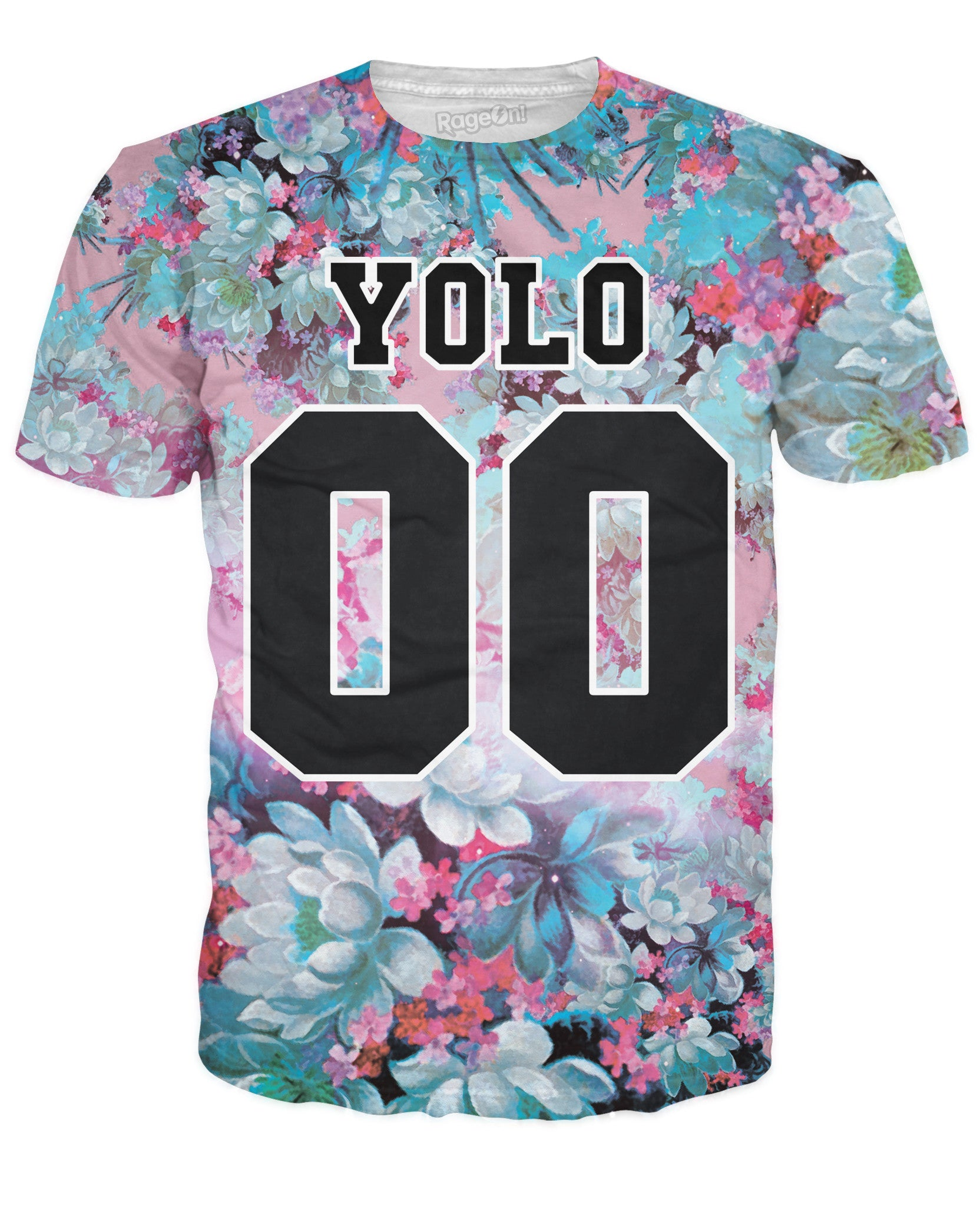 YOLO Floral T-Shirt