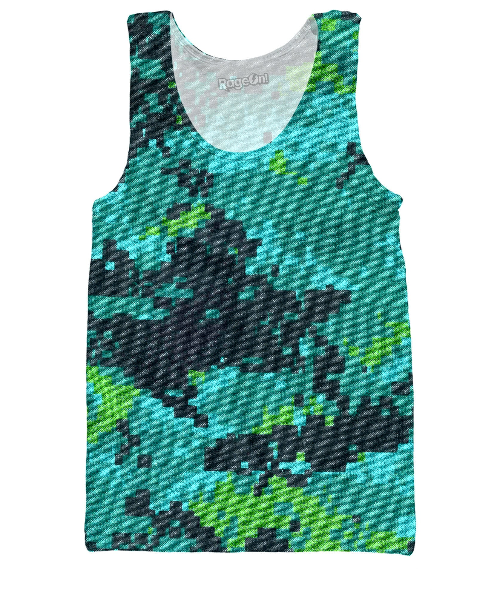 Digital Camo Tank Top