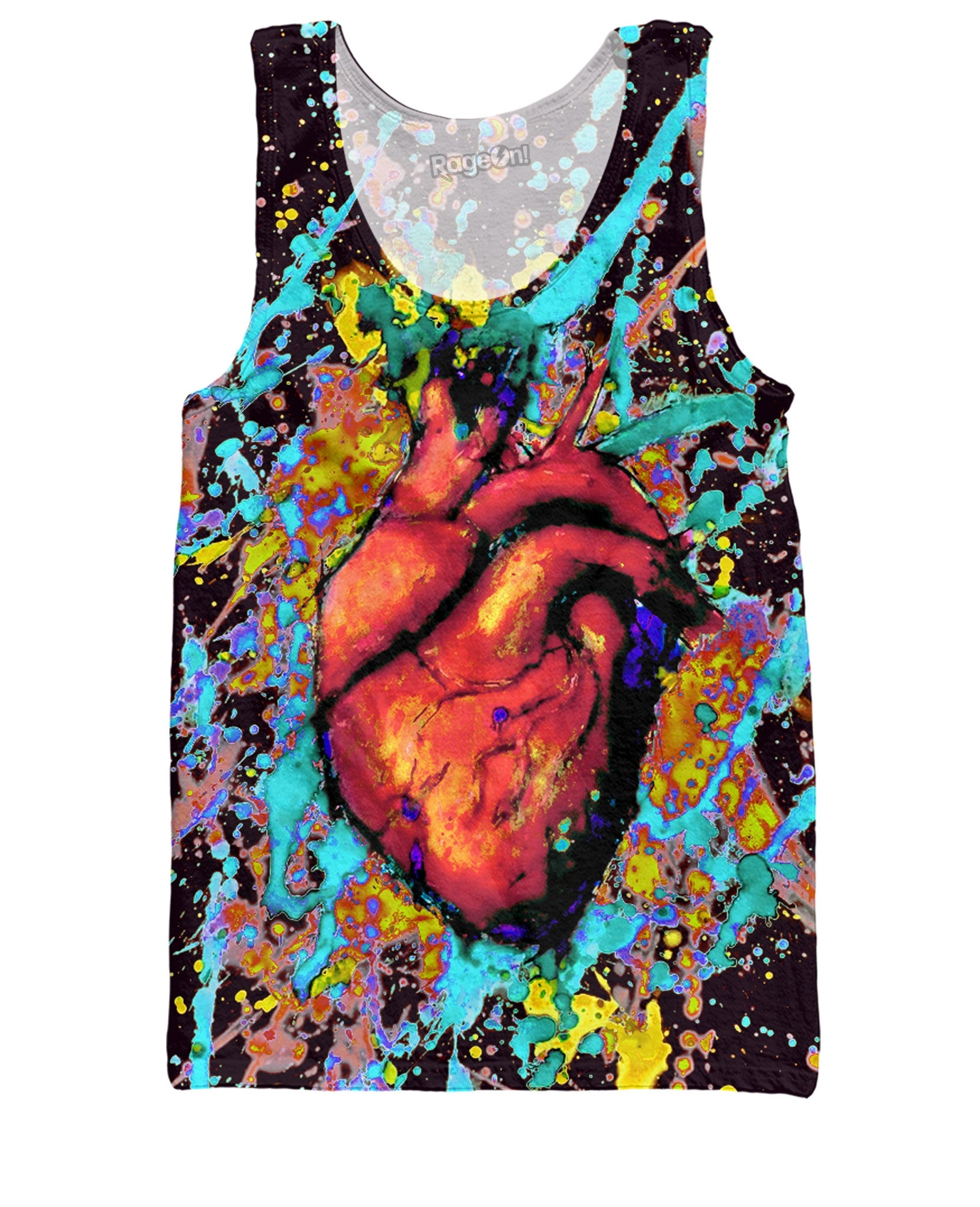 Heart Paint Tank Top