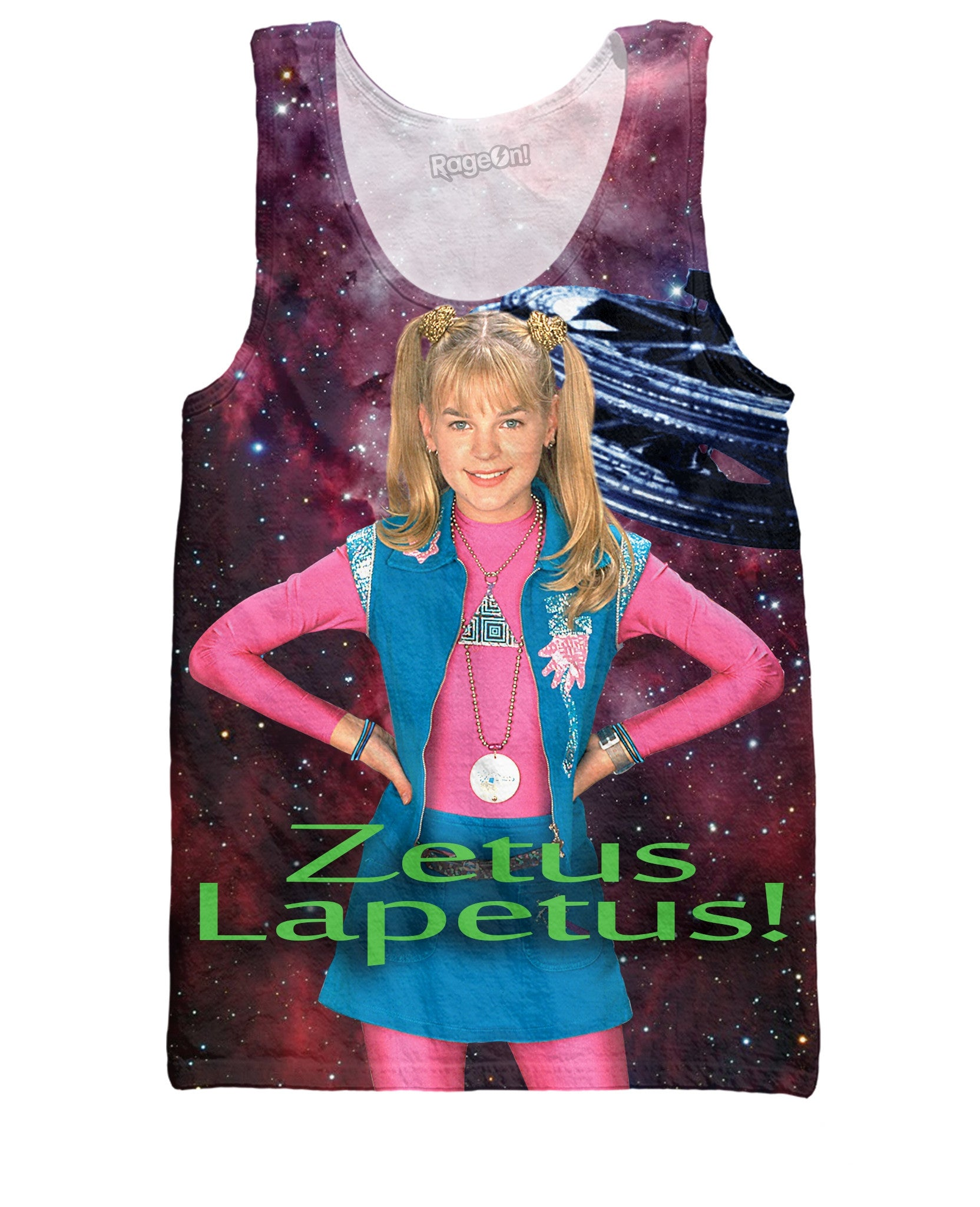 Zenon Girl of the 21st Centurty Tank Top