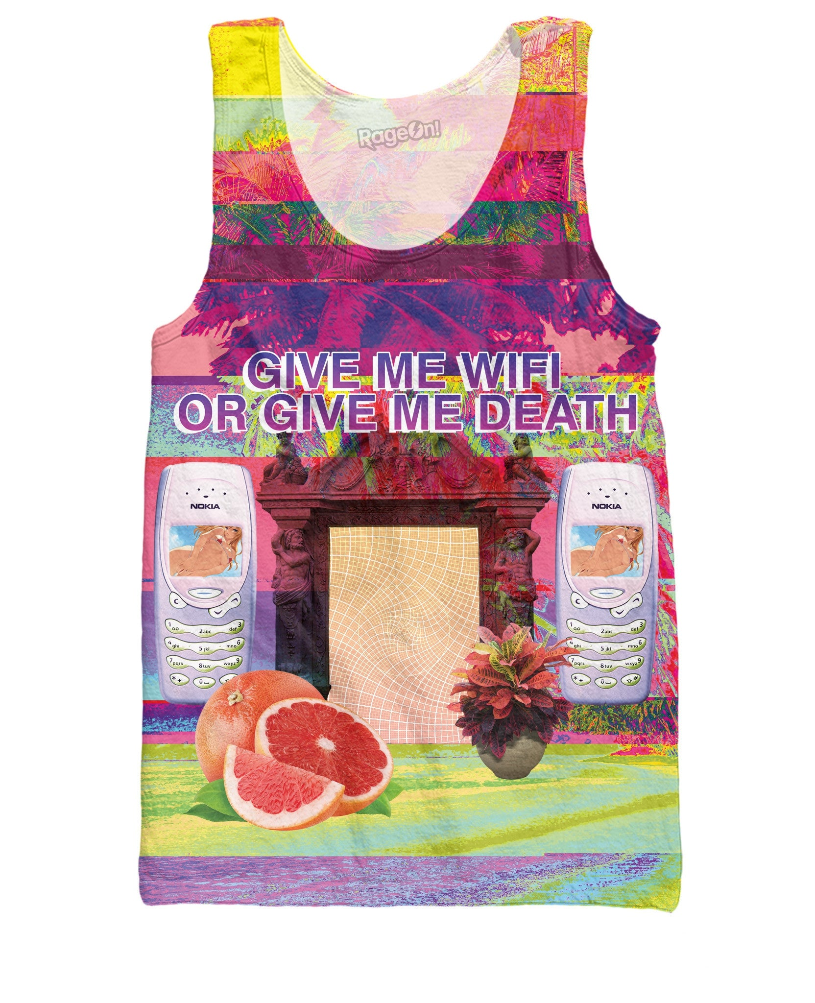 Give Me WiFi or Give Me Death Tank Top