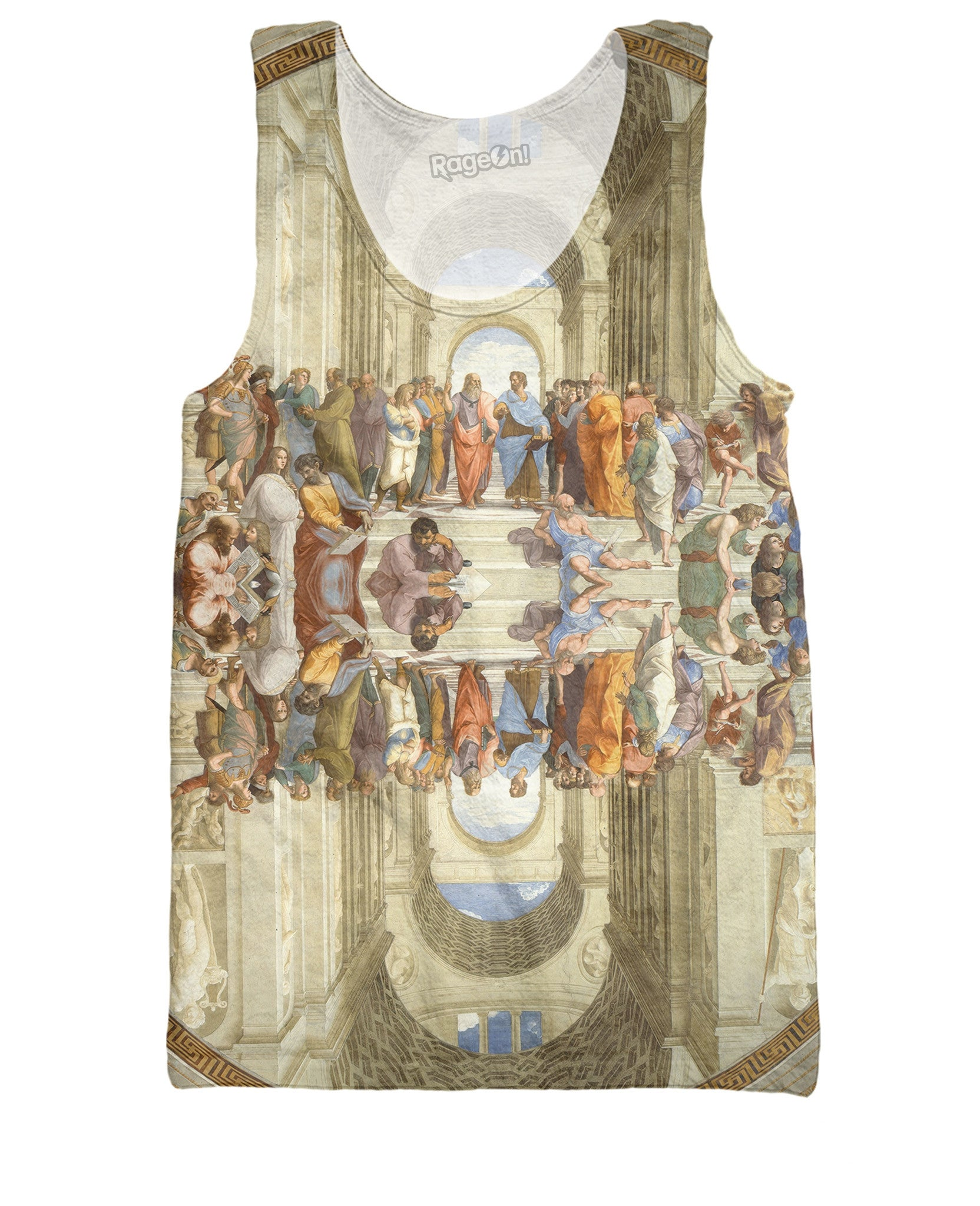 School of Athens Tank Top