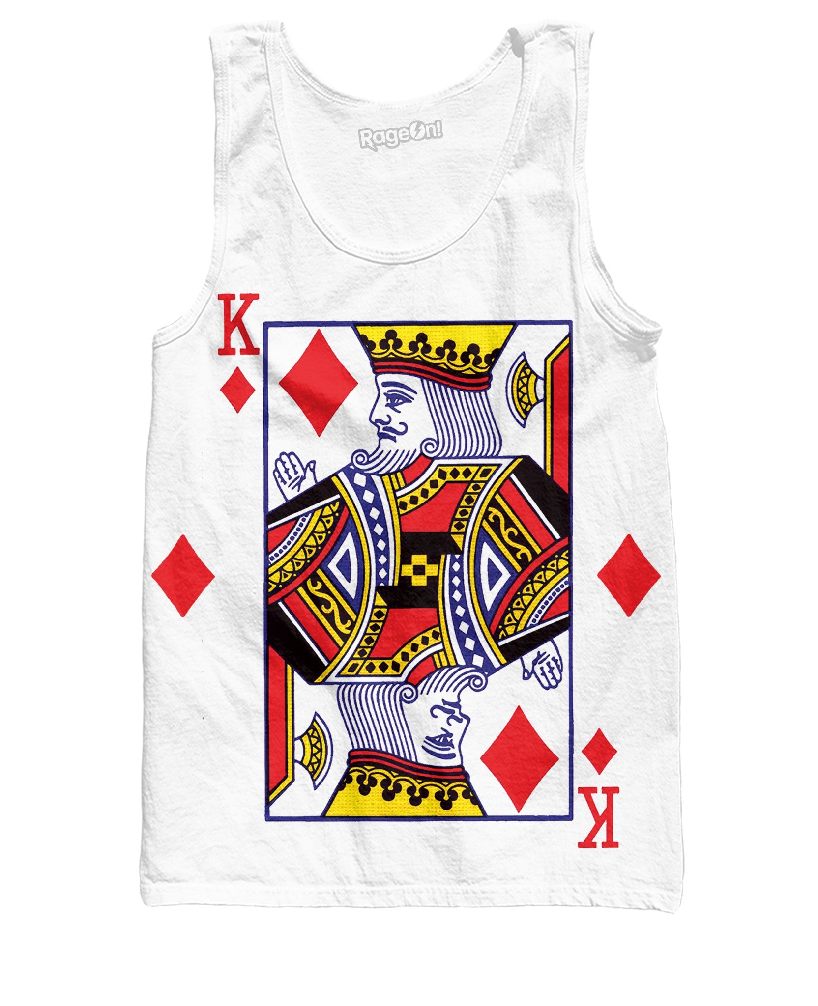 King of Diamonds Tank Top