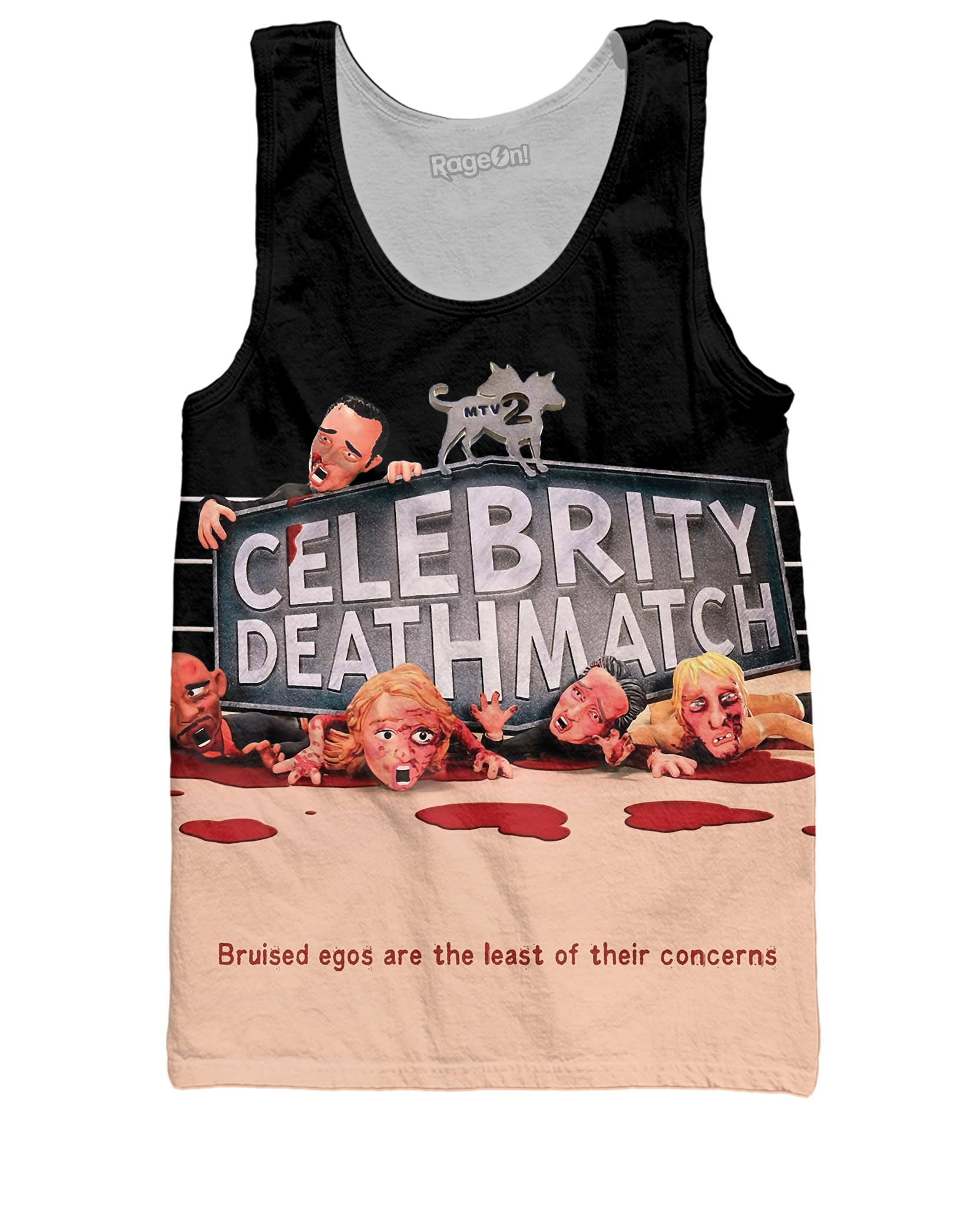 MTV2's Celebrity Deathmatch Tank Top
