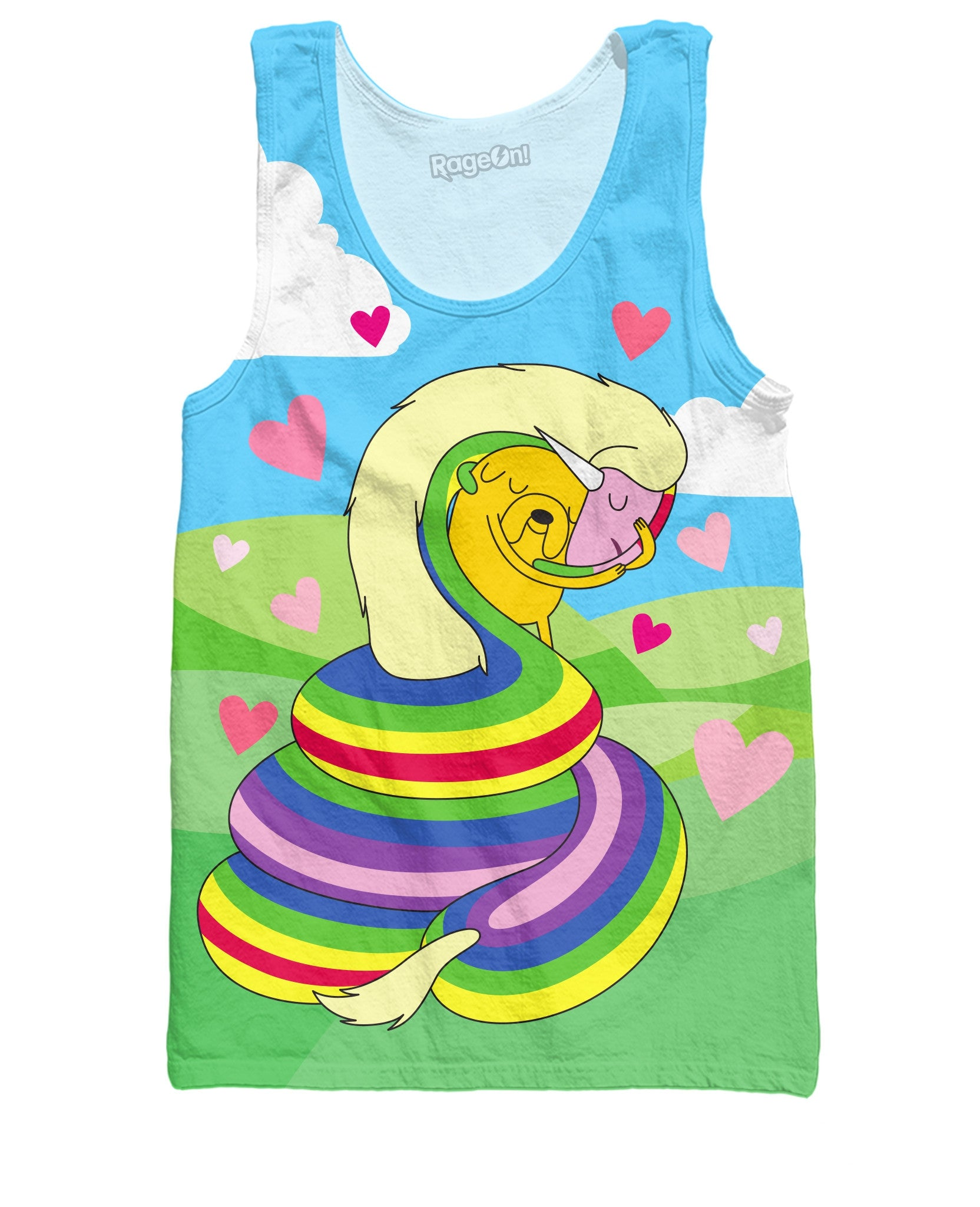 Jake and Lady Rainicorn Tank Top