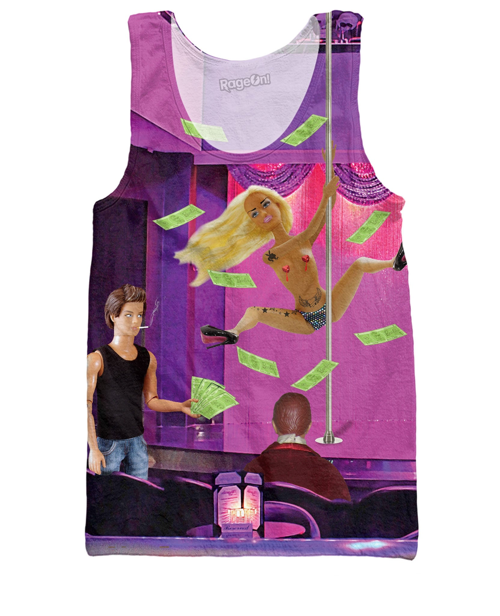 Stripper Barbie Tank Top