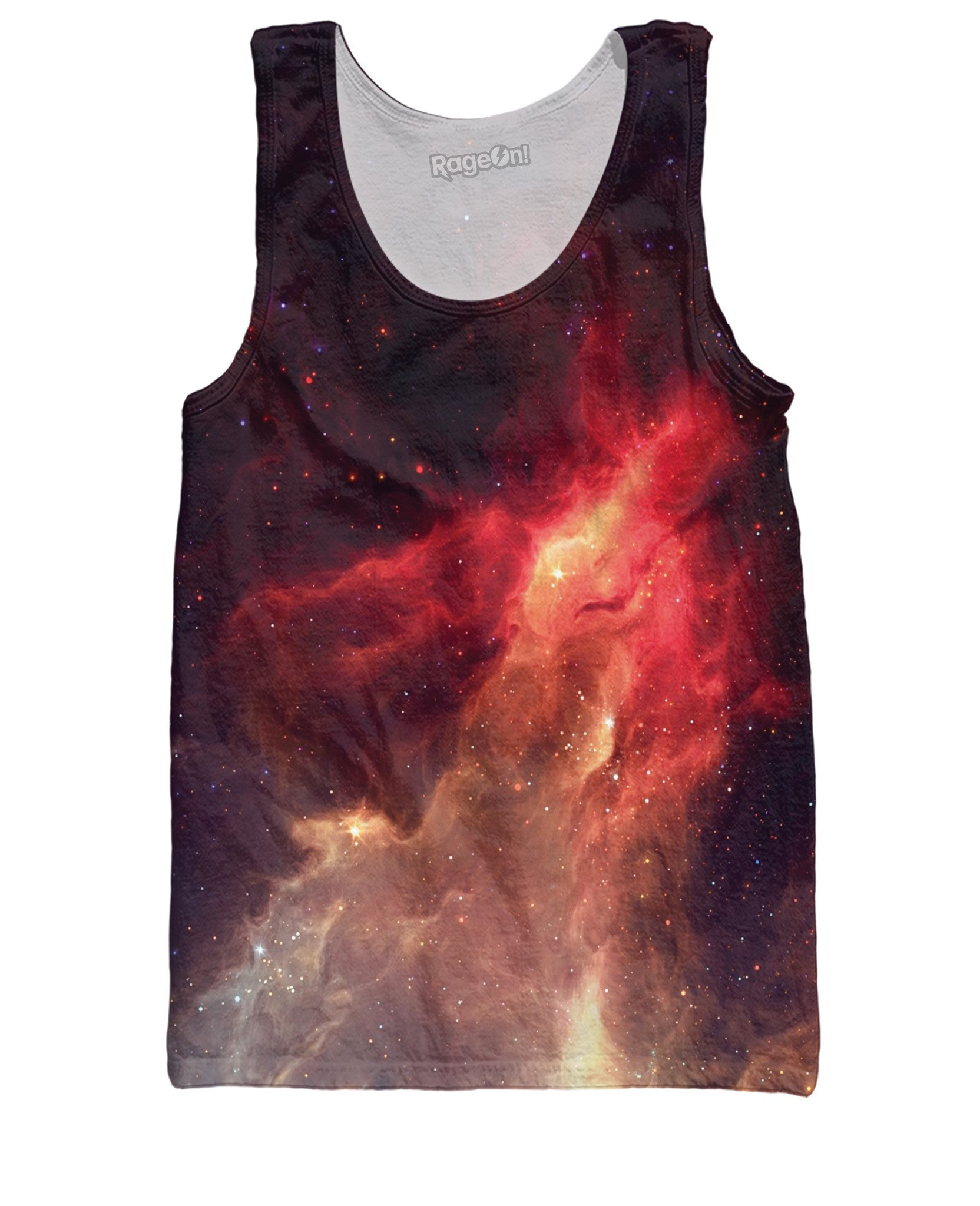 Crimson Nebula Tank Top
