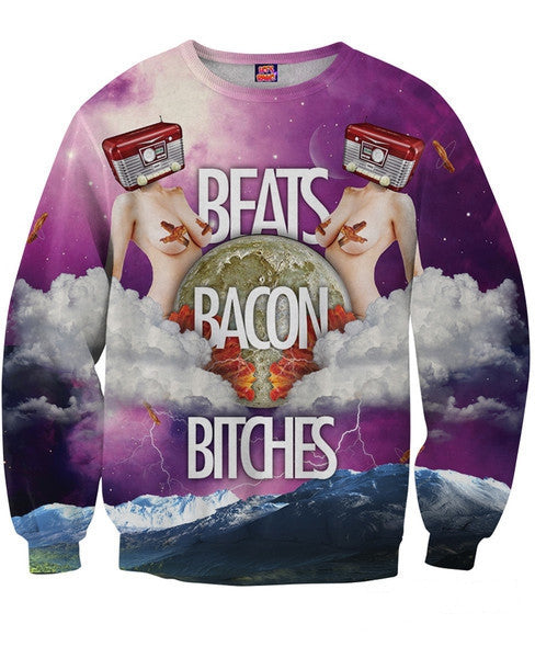 Beats Bacon Bitches Sweatshirt
