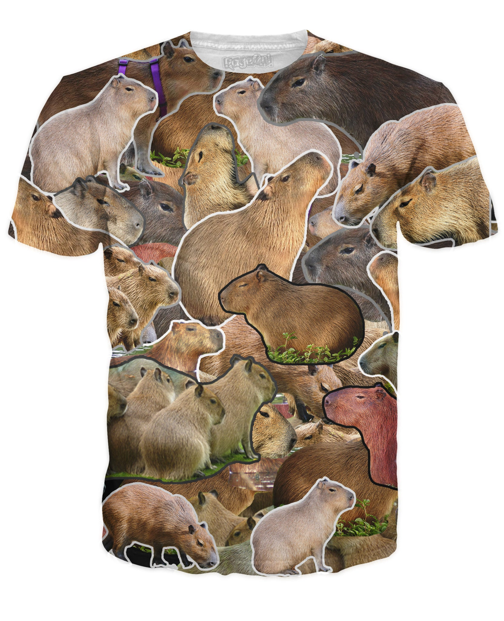 Capybara Collage T-Shirt