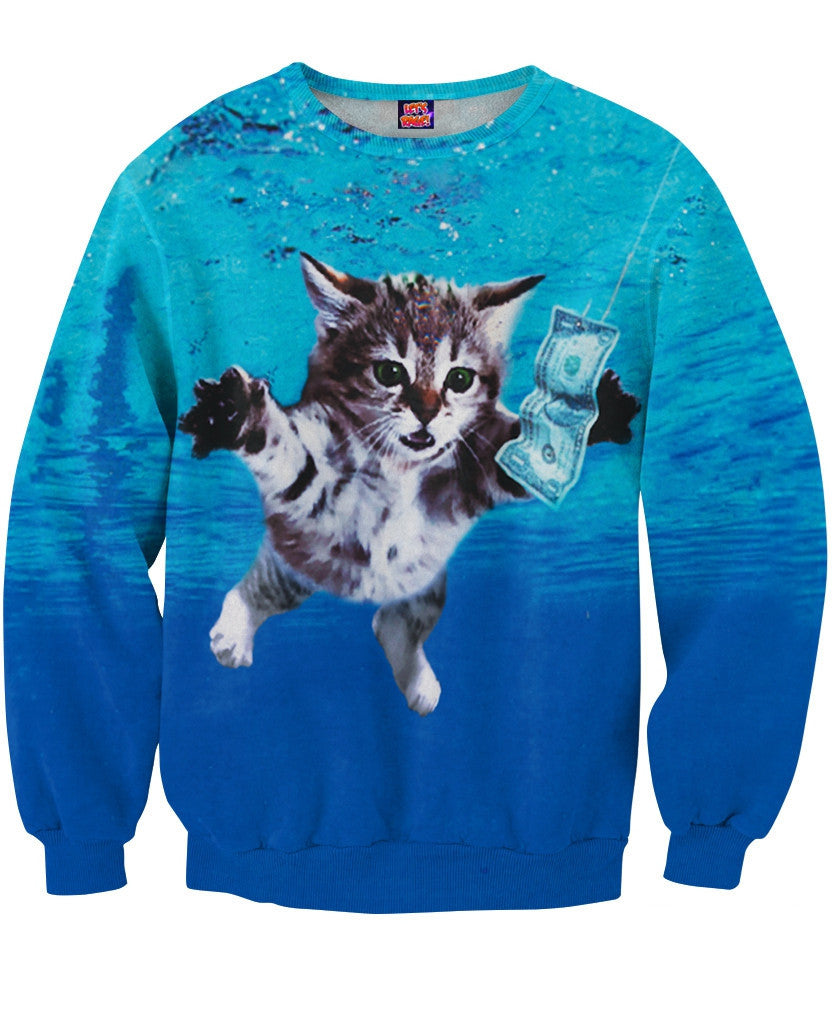 Cat Cobain Sweatshirt