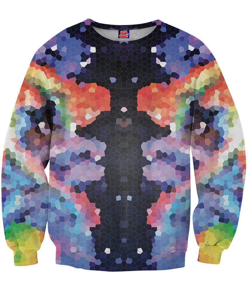 Crystal Symmetry Sweatshirt