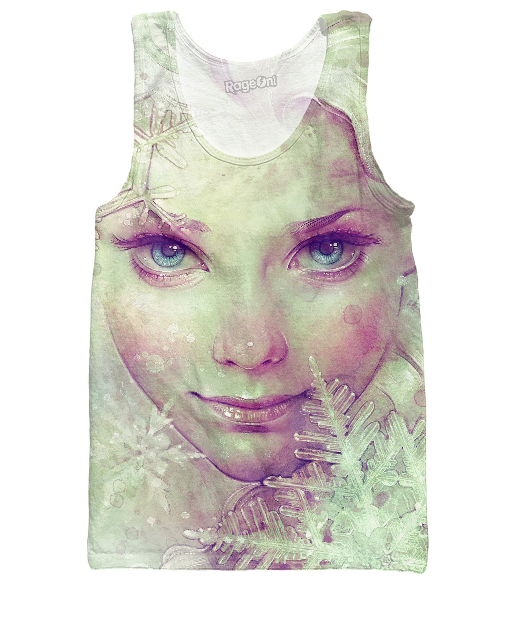 Elsa Ice Queen Tank Top