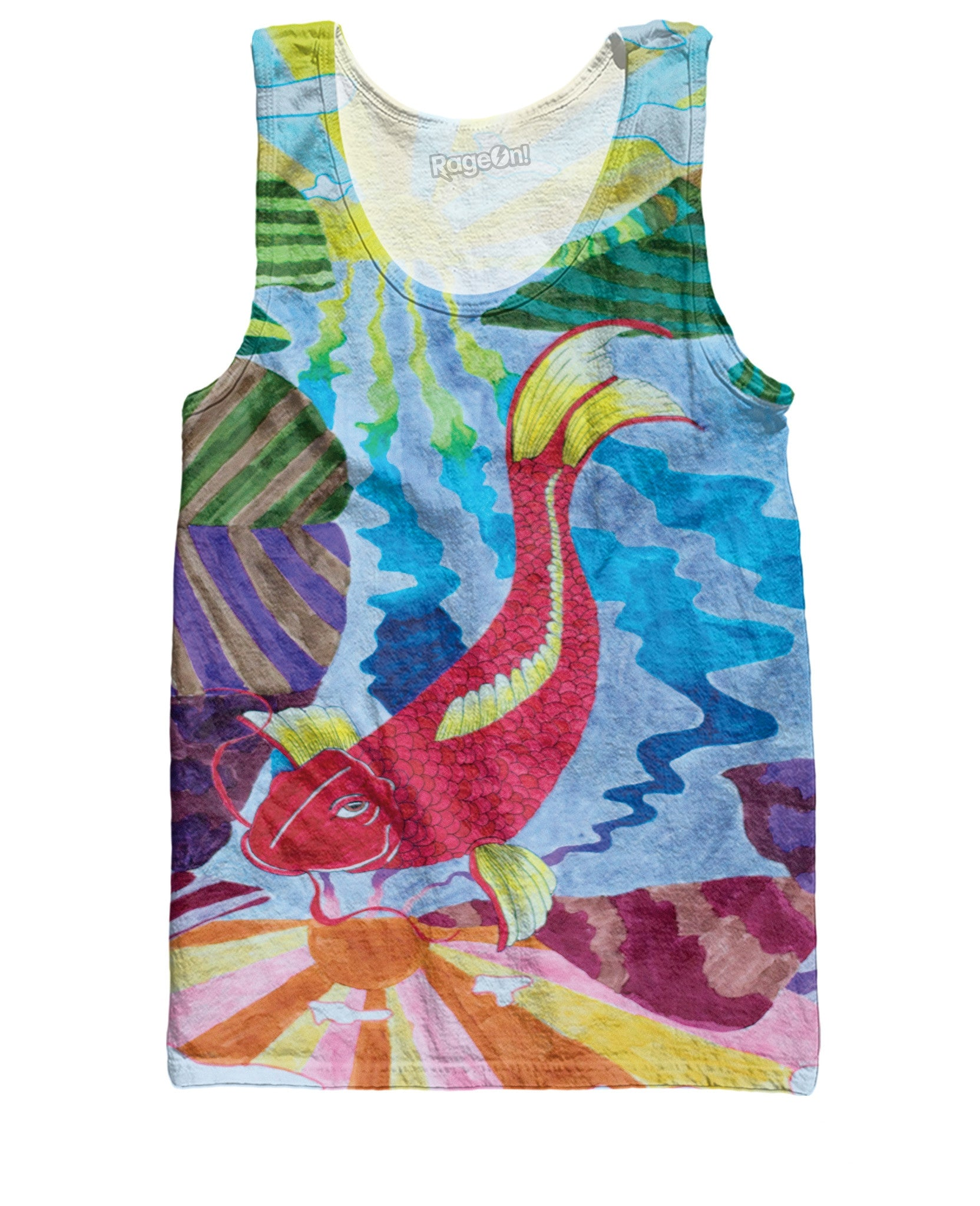 Electric Koi Tank Top