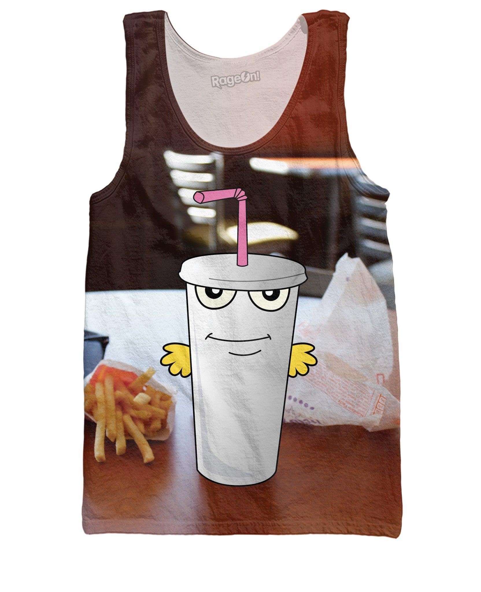 Master Shake in Real Life Tank Top