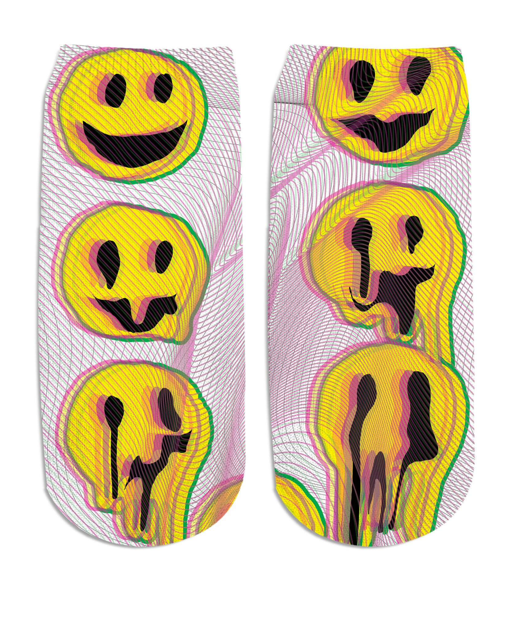Wax Smile Ankle Socks