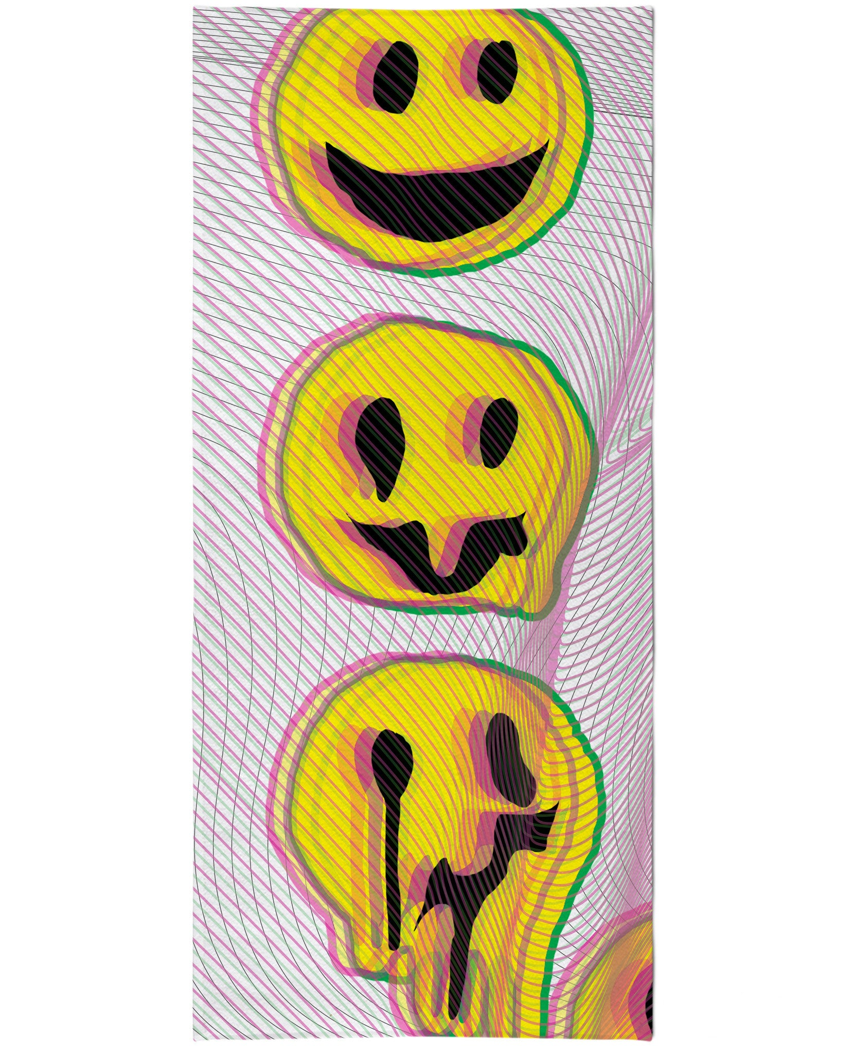 Wax Smile Beach Towel
