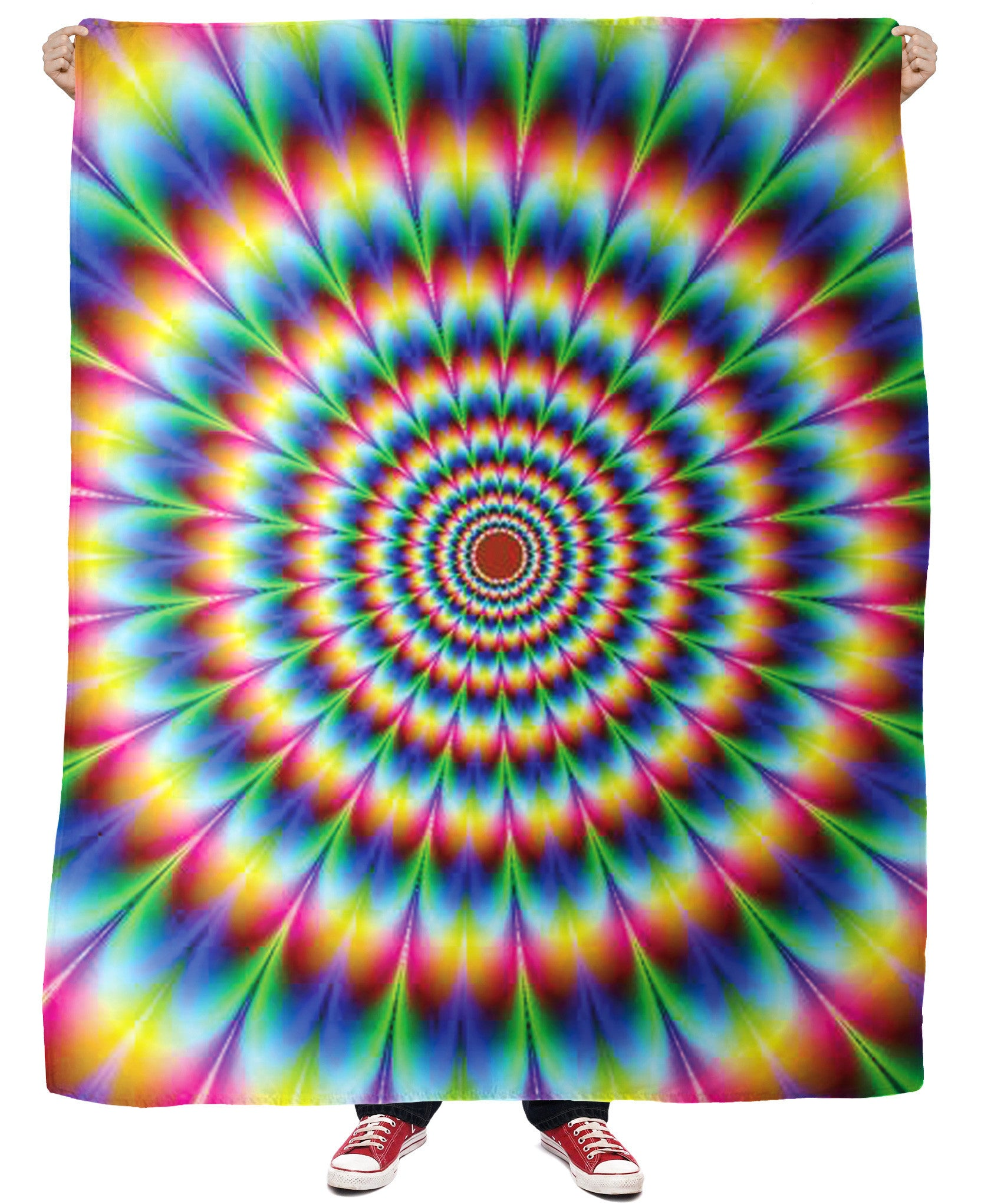 Into the Rainbow Fleece Blanket