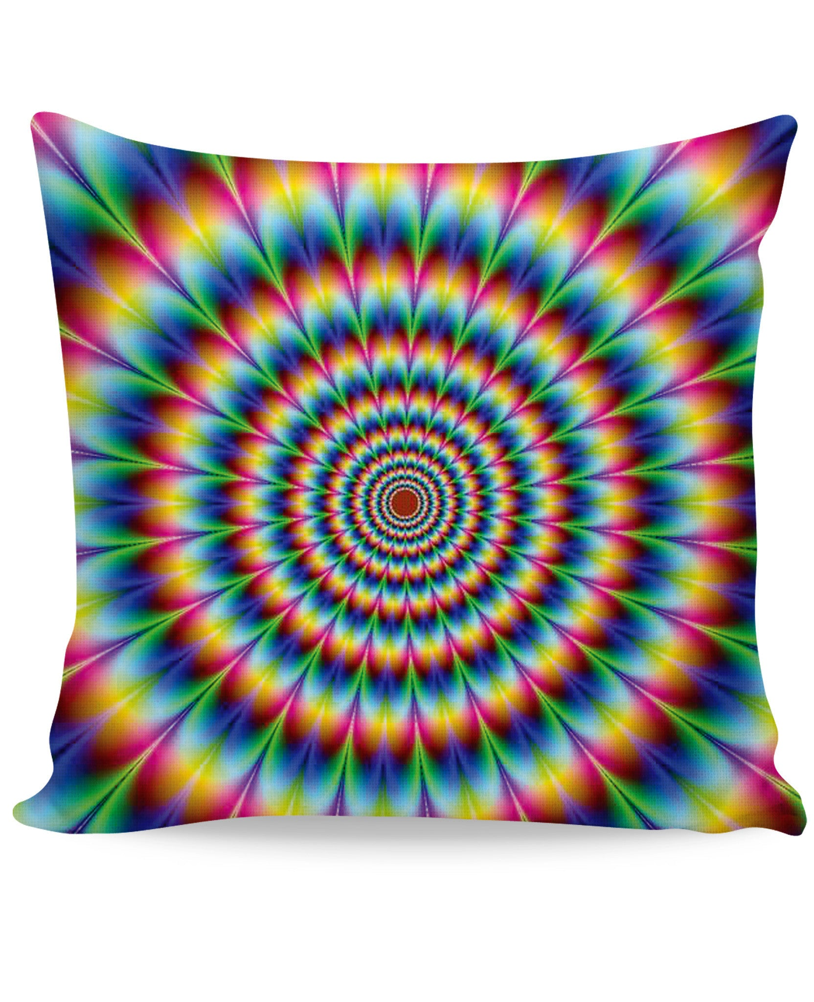 Into the Rainbow Couch Pillow