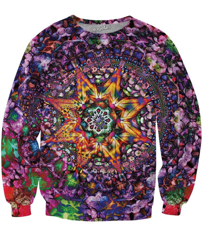Bursting Star Crewneck Sweatshirt