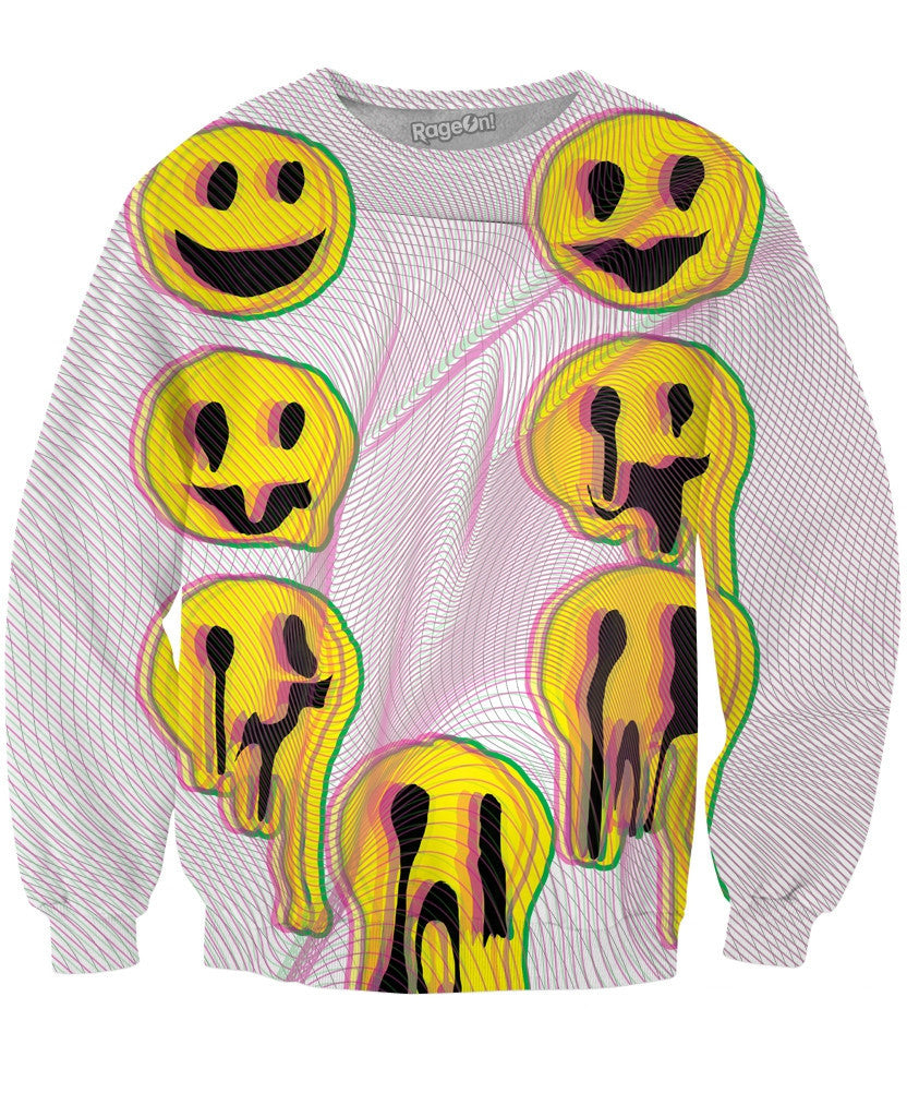 Wax Smile Crewneck Sweatshirt