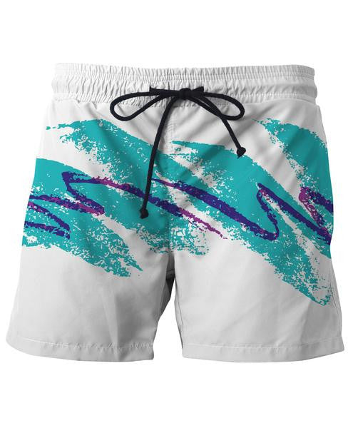 Paper Cup Swim Trunks