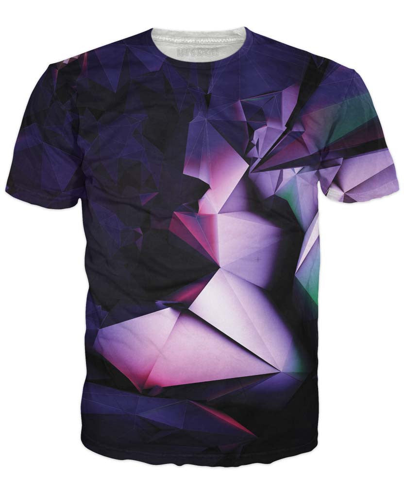 Purple Geometry T-Shirt