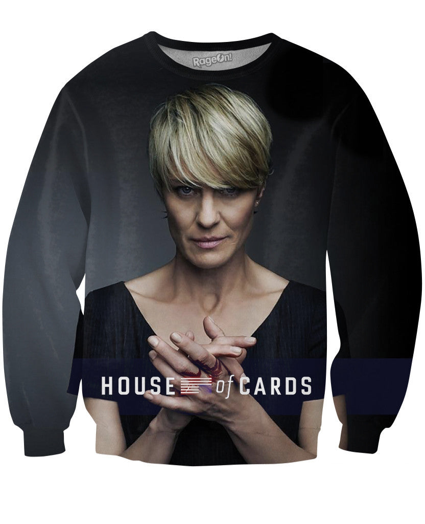 House of Cards Claire Underwood Crewneck Sweatshirt