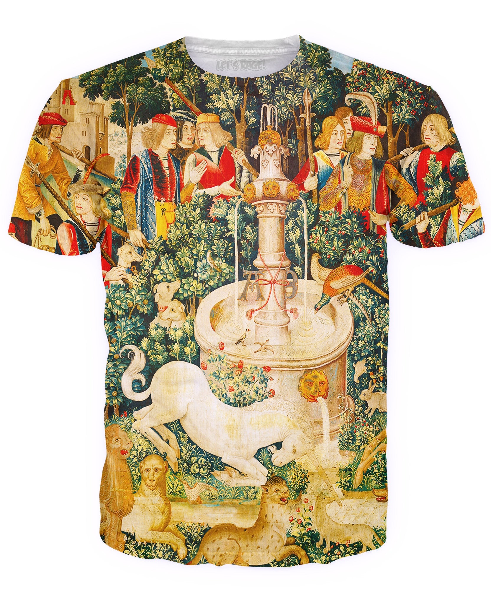 Unicorn Fountain T-Shirt