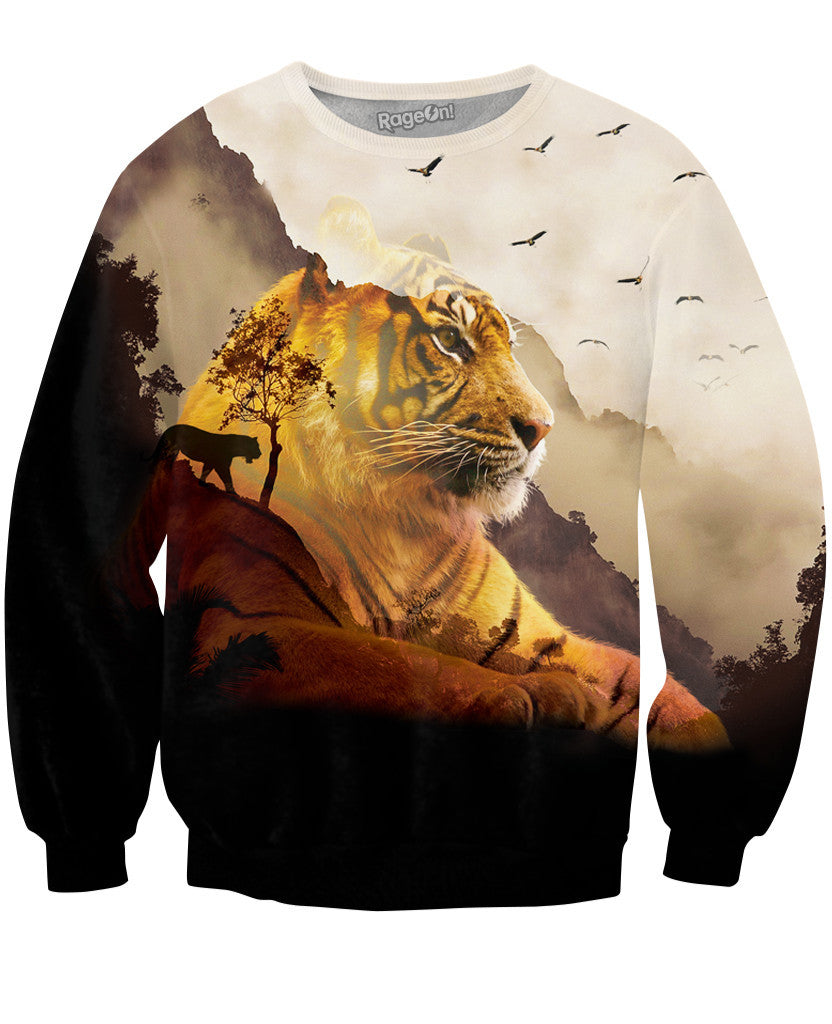 Tiger Valley Crewneck Sweatshirt