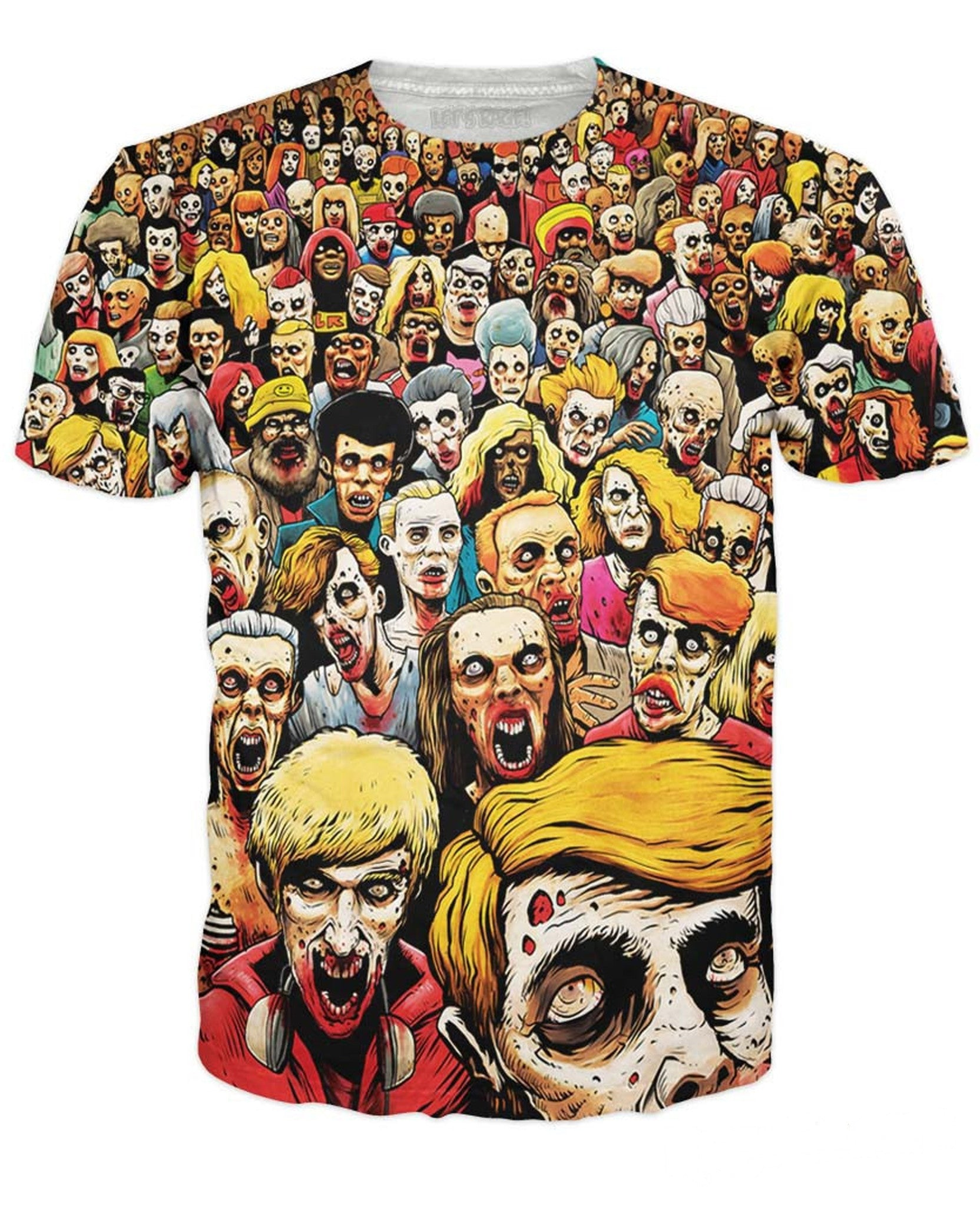 Zombies At The Mall T-Shirt