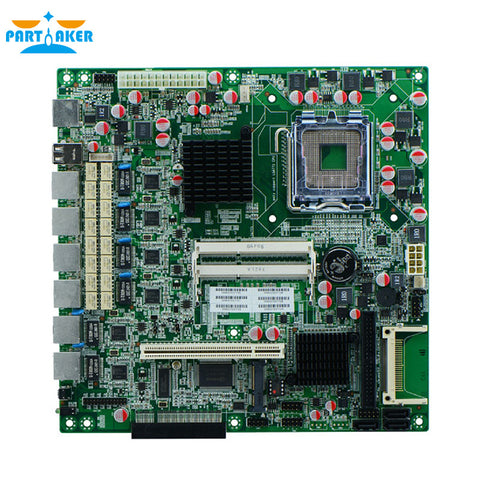 6 Ethernet Motherboard DDR3 Firewall Motherboard G41XE