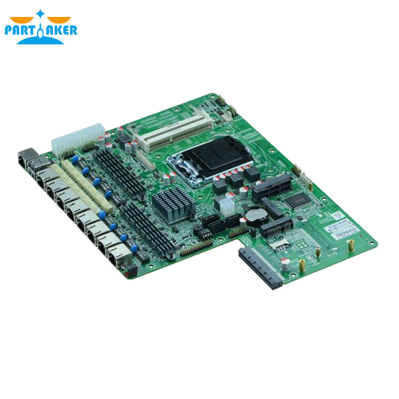 8 Ethernet Network Router Motherboard H87SL_B