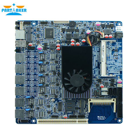 Firewall Motherboard D2550 6 Ethernet Port ITX-D25SL