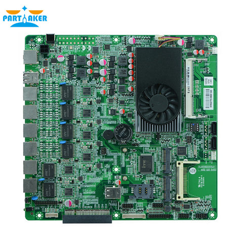 6 Ethernet Firewall Router Server Motherboard N70SL