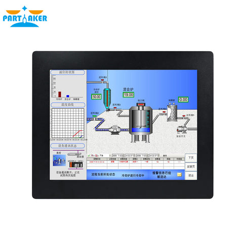 15 Inch 5 Wire Resistive Touch Panel Industrial PC Z14
