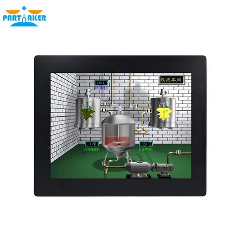 19 Inch 10 Points Capacitive Industrial Panel PC Z16T