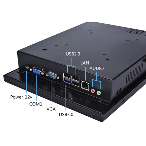 10.1 Inch 4 Wire Resistive Touch Panel PC Computer   Z6