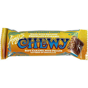 Amy's Chewy Candy Bar with Chopped Pecans - grocery - Cerrillos Station | Fine Art Gallery, Native American Jewelry & Shop