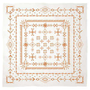 Bandana Nicky Ovitt NO4 - - Cerrillos Station | Fine Art Gallery, Native American Jewelry & Shop